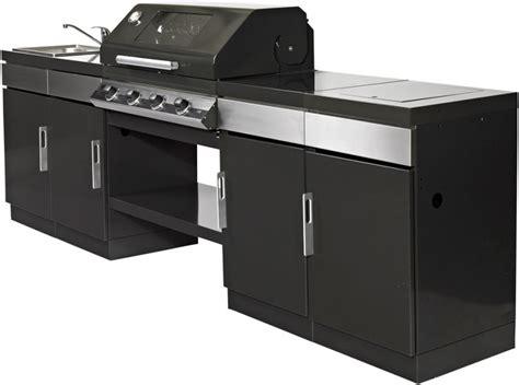 cucina barbecue cucina da giardino con barbecue lavandino e fornello