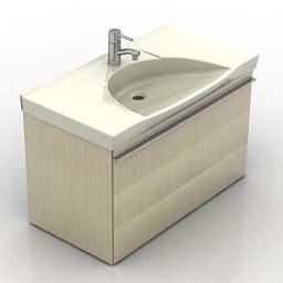 Kitchen Wash Basin Models 3d Sanitary Ware Wash Basin Ifo Sense 47405 N190212 3d