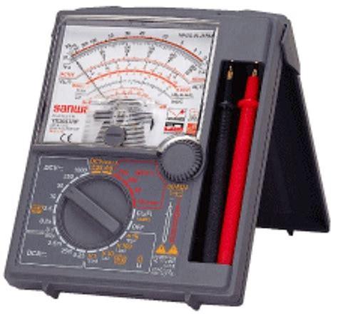 Alat Ukur Multimeter ichsan025104 pemahaman alat ukur listrik