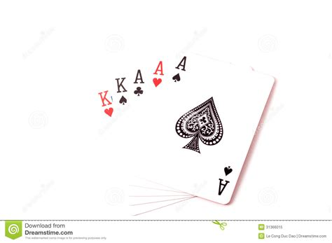 full house cards full house set of cards royalty free stock photo image 31366015