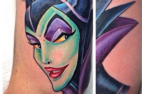 25 disney villain tattoos to die for
