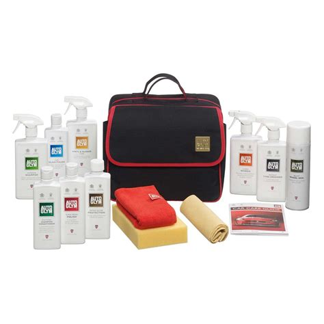 Car Interior Cleaning Kit by Autoglym Bodywork Wheels Interior Collection Kit