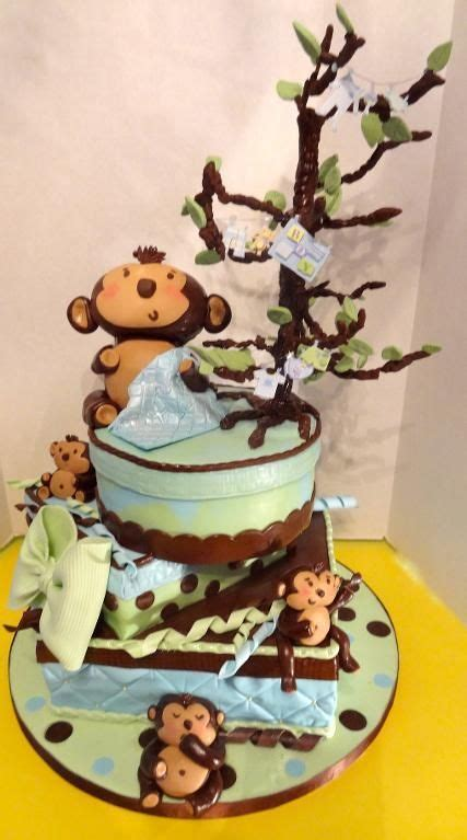 baby shower decorations monkey theme boy 1000 images about monkey baby shower cakes on