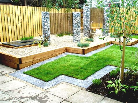 interesting garden designs for small gardens in cool