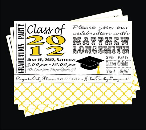 printable graduation invitation cards free free printable graduation party invitations templates quotes
