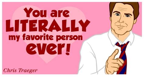 parks and rec valentines optimuscline happy valentine s from chris traeger