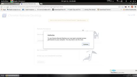 Chrome Remote Desk by Chrome Remote Desktop Extension Busgood