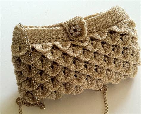 pattern crochet clutch crochet pattern for clutch purse evening bag by