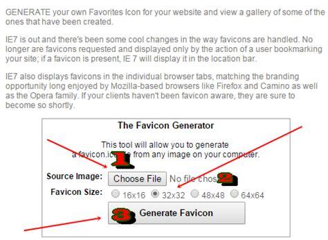 membuat favicon blog cara mengganti favicon yang terpasang pada blogger