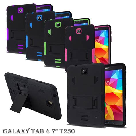 Rugged Armor Soft Cover Casing Stand Samsung Galaxy J7 Prime rugged defender cover armor box stand for samsung galaxy tab tablet stylus ebay