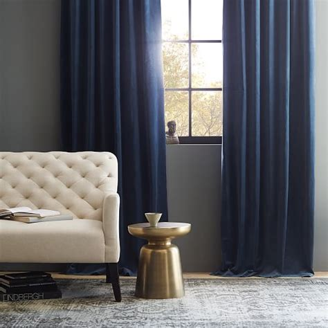 easy blackout curtains curtain navy blue velvet curtains jamiafurqan interior