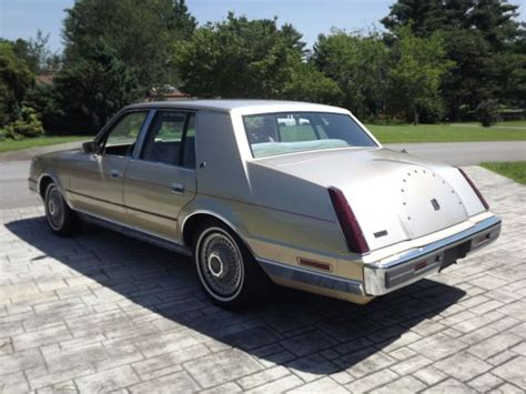 1985 lincoln continental original very good well maintained by original owne classic