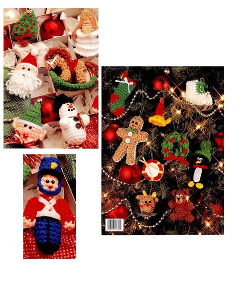 hot sale ebook crochet christmas ornaments pdf pattern c003
