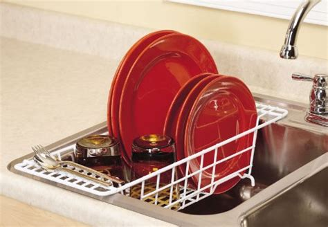 The Sink Drainer Rack by Closetmaid The Sink Dish Rack Drainer Organizer