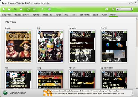 themes creator download download gratis sony ericsson themes creator v 4 12