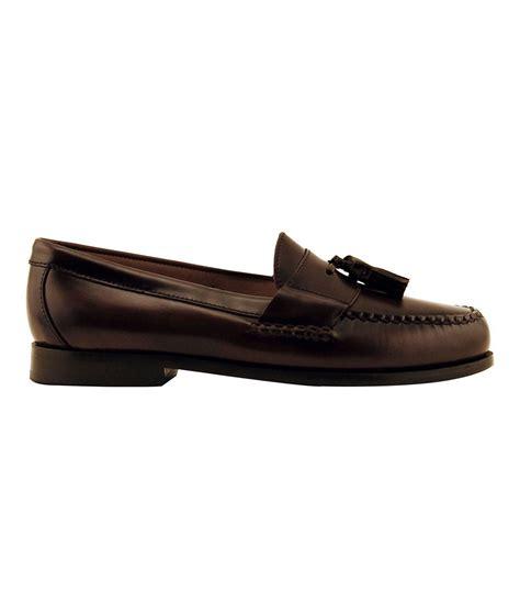 johnston murphy tassel loafers johnston murphy tassel dress loafers in brown for