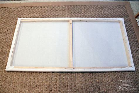 build an a frame diy a giant artist canvas pretty handy girl