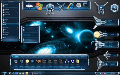 nexus theme for windows 8 1 wincustomize explore winstep evolve