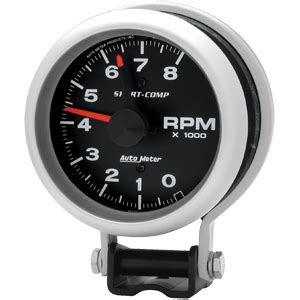 Rpm Tachometer Scarlet Crom pro 1 serious performance