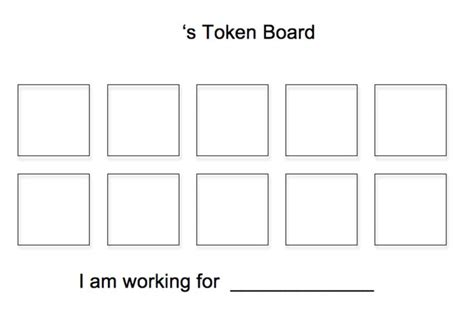 token board template free basic 10 token board with name token boards