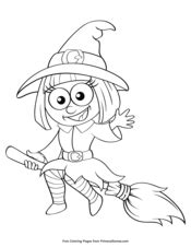 cute witch coloring page halloween coloring pages printable coloring ebook