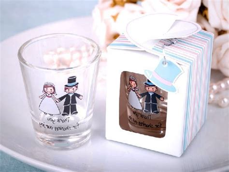 Wedding Giveaways Design - wedding favors ideas wedding shot glass favors with small glass wedding shot glass