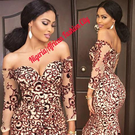 pictures of all nigerian celebrities new styles of ponytail hair image gallery nigeria african attire