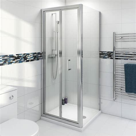 760 Shower Door Simplicity 4mm Bifold Shower Enclosure 760 X 760 Victoriaplum
