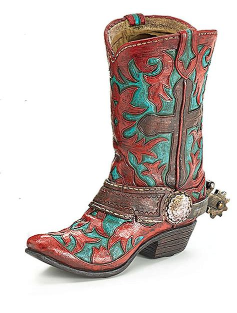 24 best images about cowboy boot vases planters on