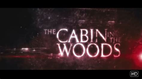 the cabin in the woods trailer