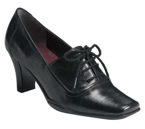aerosoles cincinnati lace up oxford dress shoes qvc