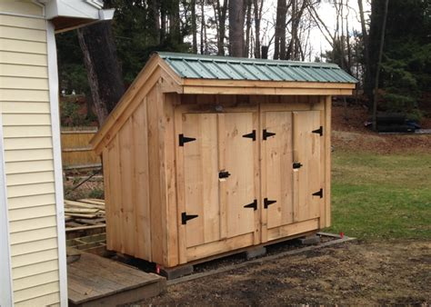 Trash Can Shed Plans by Garbage Can Shed Trash Shed Outdoor Trash Can Enclosure
