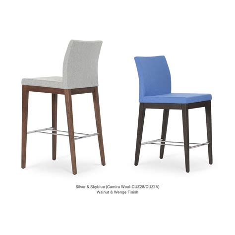 bar stools somerville ma aria wood bar counter stool by soho concept city
