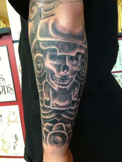 tattoos of god mayan god of by spirits in the flesh s