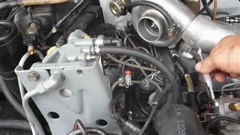 scow pump diesel pump timing youtube