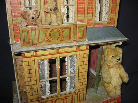 bear doll house antique teddy bear crossing antique dollhouses aka teddy