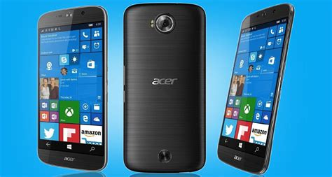 Hp Acer Jade S5 zestawienie wszystkich telefon 243 w z systemem windows 10 mobile msmobile pl
