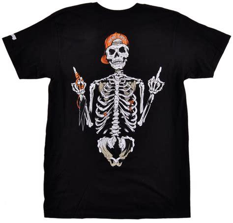t shirt lil wayne ebay trukfit trap skeleton t shirt here first black top mens