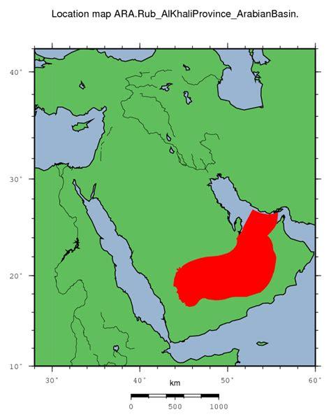 middle east map rub al khali desert ara rub al khali province arabian basin