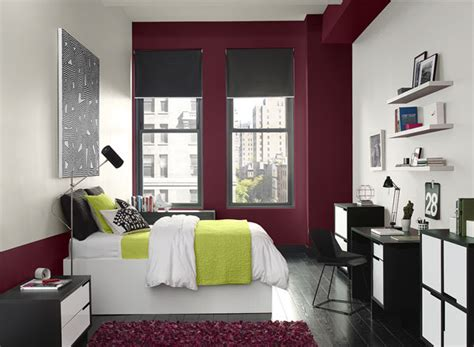 accent wall color ideas accent colors for black and white bedroom home delightful