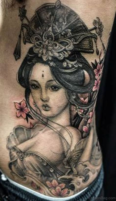 geisha ink tattoo 50 outstanding geisha tattoo for rib