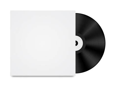 lp cover template vinyl record template vector