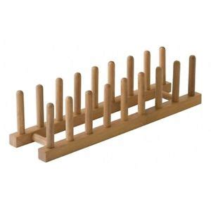 Kitchen Cabinet Dish Rack by Bamboo Plate Rack Pot Lid Holder Cabinet Stand Storage