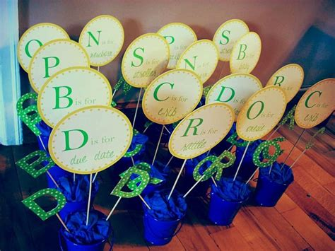 Handmade Centerpieces For Baby Shower - bridal shower centerpiece ideas diy wedding centerpieces