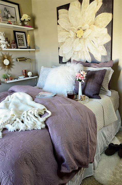 West Elm Matelasse Duvet Amethyst Bedroom Makeover Tidymom 174