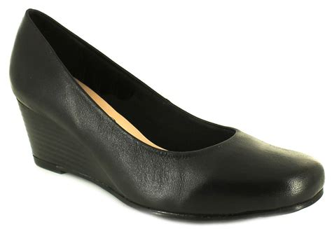 comfort plus shoes new ladies womens black comfort plus margo wide fit court