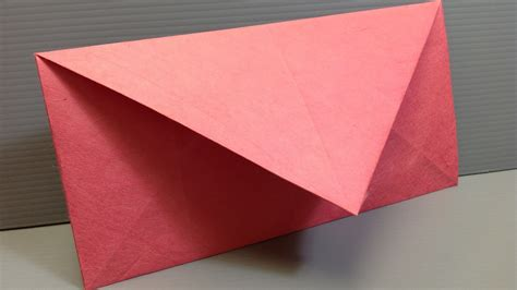 Folding Paper Into - origami how to fold an origami envelope with pictures