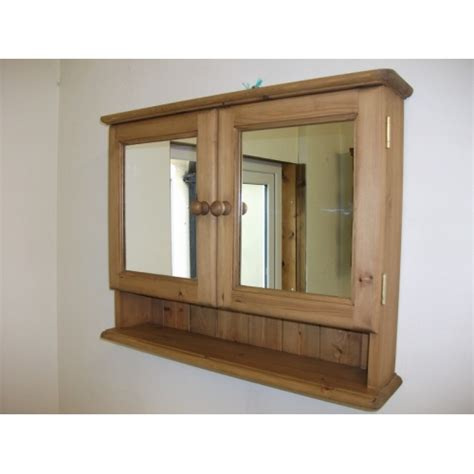 two door mirrored bathroom cabinet w72cm