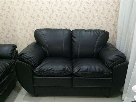 Sofa Kulit Murah jual beli sofa kulit sintesis bekas furniture kursi dan