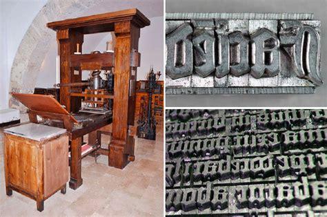 imagenes de imprentas antiguas y modernas 191 qui 233 n invent 243 la imprenta johann gutenberg